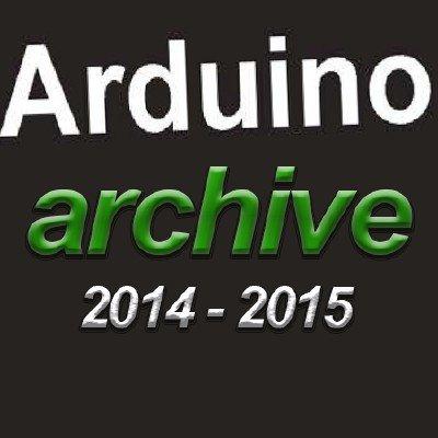 Arduino. Arhive. 2014-2015