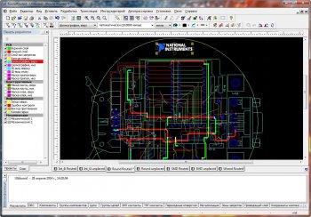 Скриншот 2 Multisim & Ultiboard (Circuit Design Suite) PowerPro 13.0.1 (2014/ML+RUS)