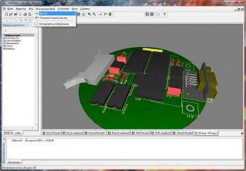 Скриншот 3 Multisim & Ultiboard (Circuit Design Suite) PowerPro 13.0.1 (2014/ML+RUS)