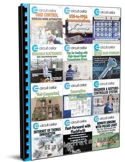 Circuit Cellar 2015 подшивка журналов