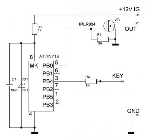 Схема шим для дрели