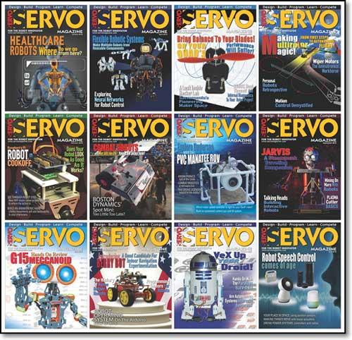 Servo Magazine №1-12 (January-December 2016)