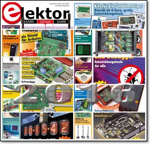 Elektor Electronics №1-12 2016 (Germany)