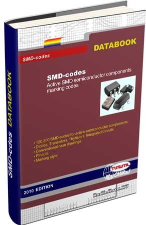 Turuta E., Turuta M.C. SMD-Codes. Active SMD Semiconductor Components Marking Codes