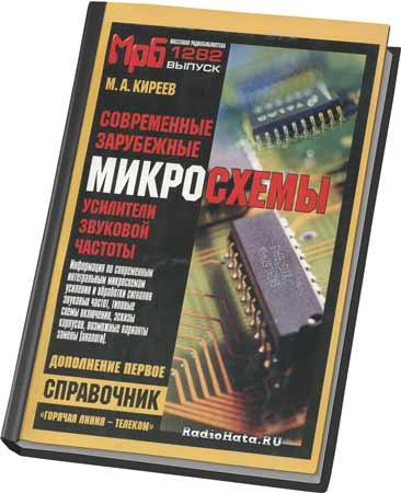 Микросхемы - усилители звуковой частоты