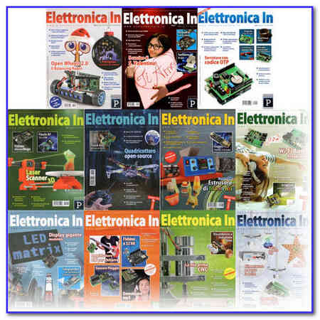 Elettronica In - 2016 Full Year Issues Collection