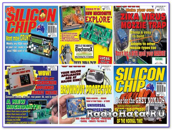 Silicon Chip №7-№12 (July-December) 2016