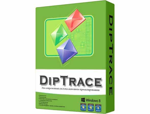 DipTrace 3.2.0.1