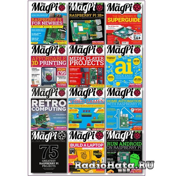 The MagPi - 2018 Full Year Issues Collection