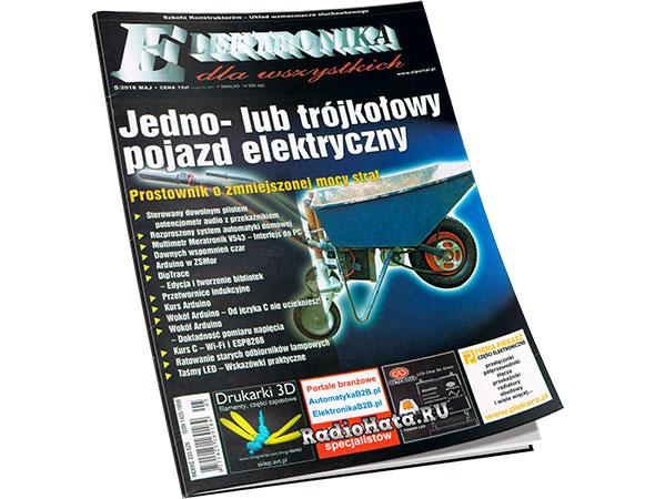 Elektronika Dla Wszystkich №5 2018