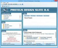 Proteus Professional 8.6 SP3 Build 23669