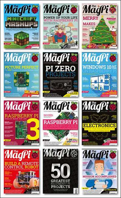 The MagPi (№ 41 - № 52) 2016