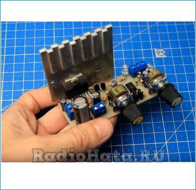 Усилитель сабвуфера на TDA7377 30Вт своими руками