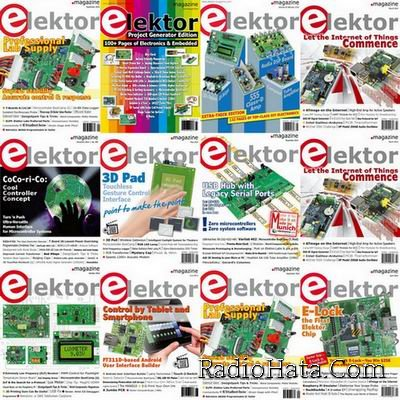 Elektor Electronics №1-12 (January-December 2014) USA