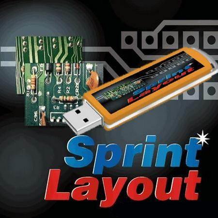 Sprint layout программа для рисования печатных плат.