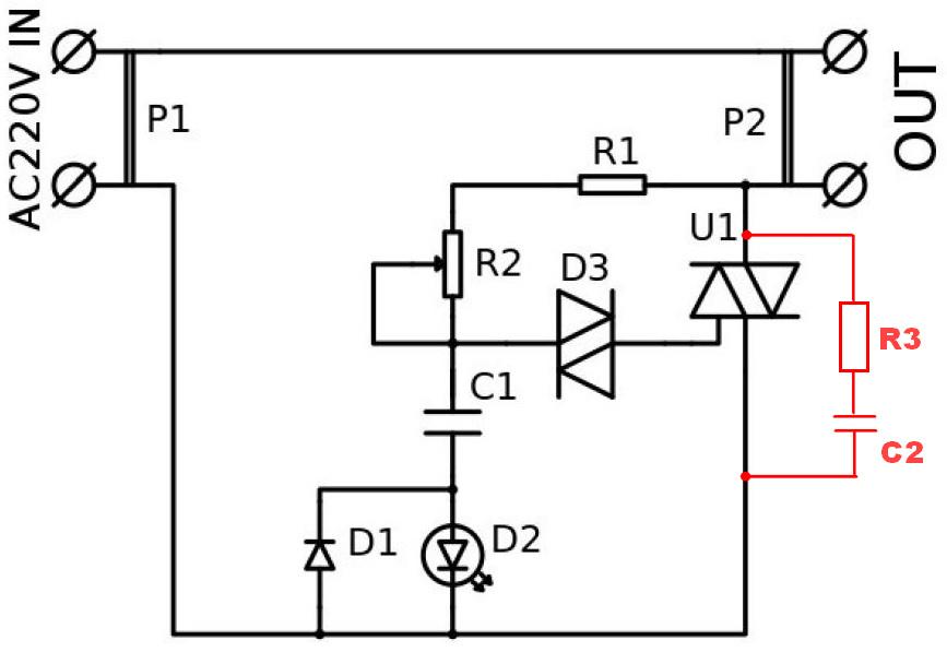 Симисторный регулятор мощности схема фото 608