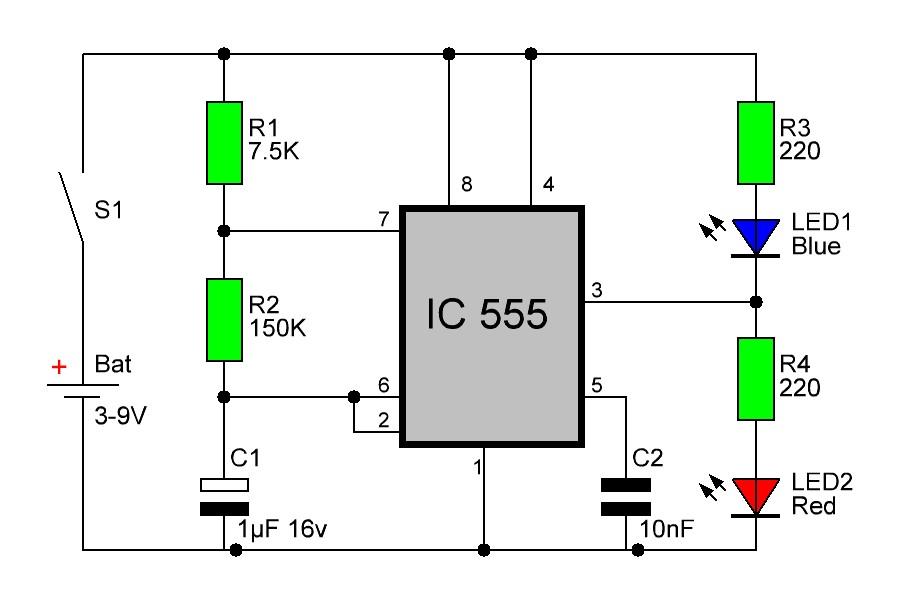 Радиокот:: теория и практика применения таймера 555. Часть вторая.