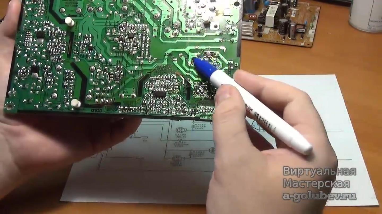 Скачать книгу по ремонту мониторов