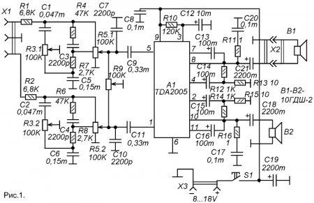 Акустические системы доработка схема 298