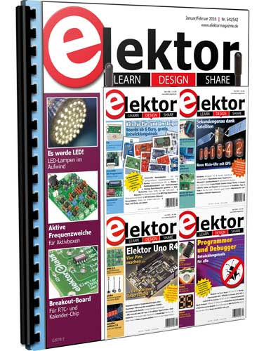 Elektor Electronics №1-6 2016 (Germany)