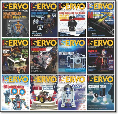 Servo Magazine №1-12 (January-December 2016)